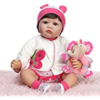 NPKDOLLシミュレーションRebornベビー人形ソフトSilicone 22インチ55 cmビニールLifelike Vivid Toy GirlバタフライElephant