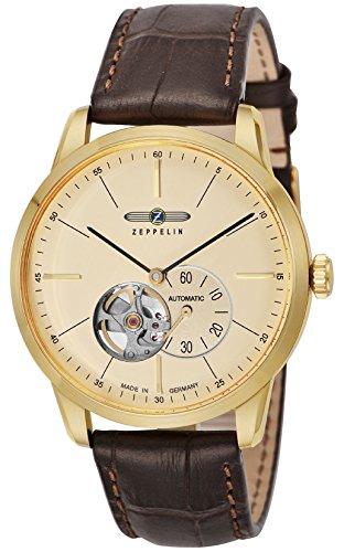 [ツェッペリン]ZEPPELIN 腕時計 Flat Line アイボリー文字盤 7362-1 メンズ 【並行輸入品】