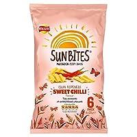 Walkers SunBites Wholegrain Snacks - Sun Ripened Sweet Chilli (6x25g) 歩行者sunbites全粒スナック - 日熟し甘い唐辛子( 6X25G )