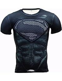 スーパーマン クロスフィットシャツ black S