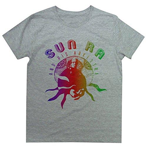 Tシャツ 強烈な個性を持つフリージャズの雄 SUNRAデザインTee