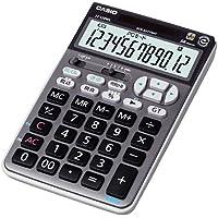 カシオ テンキー電卓 ジャストタイプ 12桁 JZ-120WL-BK-N ブラック