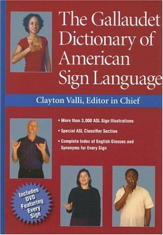 Download The Gallaudet Dictionary of American Sign Language 1563682826
