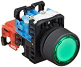 富士電機 照光押しボタンスイッチ 平形Φ24 赤 AR22F0L-11E3G