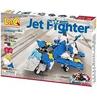 LaQ ラキュー Hamacron Constructor ハマクロン コンストラクター Jet Fighter ジェットファイター 190pcs+11pcs