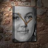 BELINDA CARLISLE / ベリンダ・カーライル - キャンバスクロック(大A3 - アーティストによって署名されました) #js001