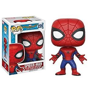 Marvel(マーベル) Spider-Man:Homecoming(スパイダーマン:ホームカミング) スパイダーマン FUNKO/ファンコ POP MARVEL VINYL ボブルヘッド [並行輸入品]