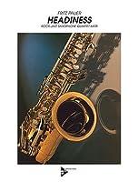 Headiness: 4 Saxophone (AATBar). Partitur und Stimmen.