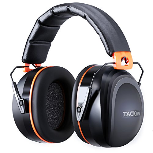 TACKLIFE 防音イヤーマフ 遮音値34dB 耐摩素材 超弾力性ヘッドバンド ANSI S3.19&CE EN352-1認証済み 大人・子供兼用 聴覚保護 工場・航空関連・刈り払い・加工作業などに対応 2年保証 HNRE1