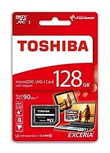 東芝 EXCERIA microSDXC 128GB 90MB/s U3対応 THN-M302R1280C2 [並行輸入品]