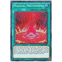 遊戯王 英語版 SHVA-EN042 Magical Meltdown 暴走魔法陣 (スーパーレア) 1st Edition