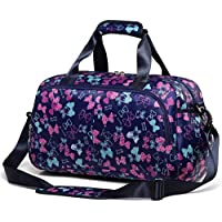 Small Gym Duffle Bag for Women Girls Carry On Overnight Duffel Travel Bag for Weekend Camping