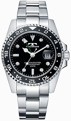 TECHNOS テクノス GMT 限定モデル メンズ 腕時計 T2134SB
