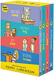 Emmie & Friends 4-Book Box Set: Invisible Emmie, Positively Izzy, Just Jaime, Becoming Bri