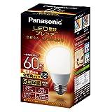 パナソニック LED電球 口金直径26mm プレミア 電球60形相当 電球色相当(7.3W) 一般電球 全方向タイプ 1個入り 密閉器具対応 LDA7LGZ60ESW2