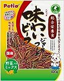 ペティオ (Petio) 味わいビーフ ジャーキーフード 野菜入りミックス 400g