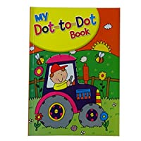 My Dot to Dot Book - 60 Pages - Boys, Dinosaurs, Wizards, Pirates and more