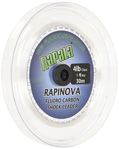 ラパラ ショックリーダー ラピノヴァ フロロカーボン 30m 1.0号 4lb クリア RFL30M4
