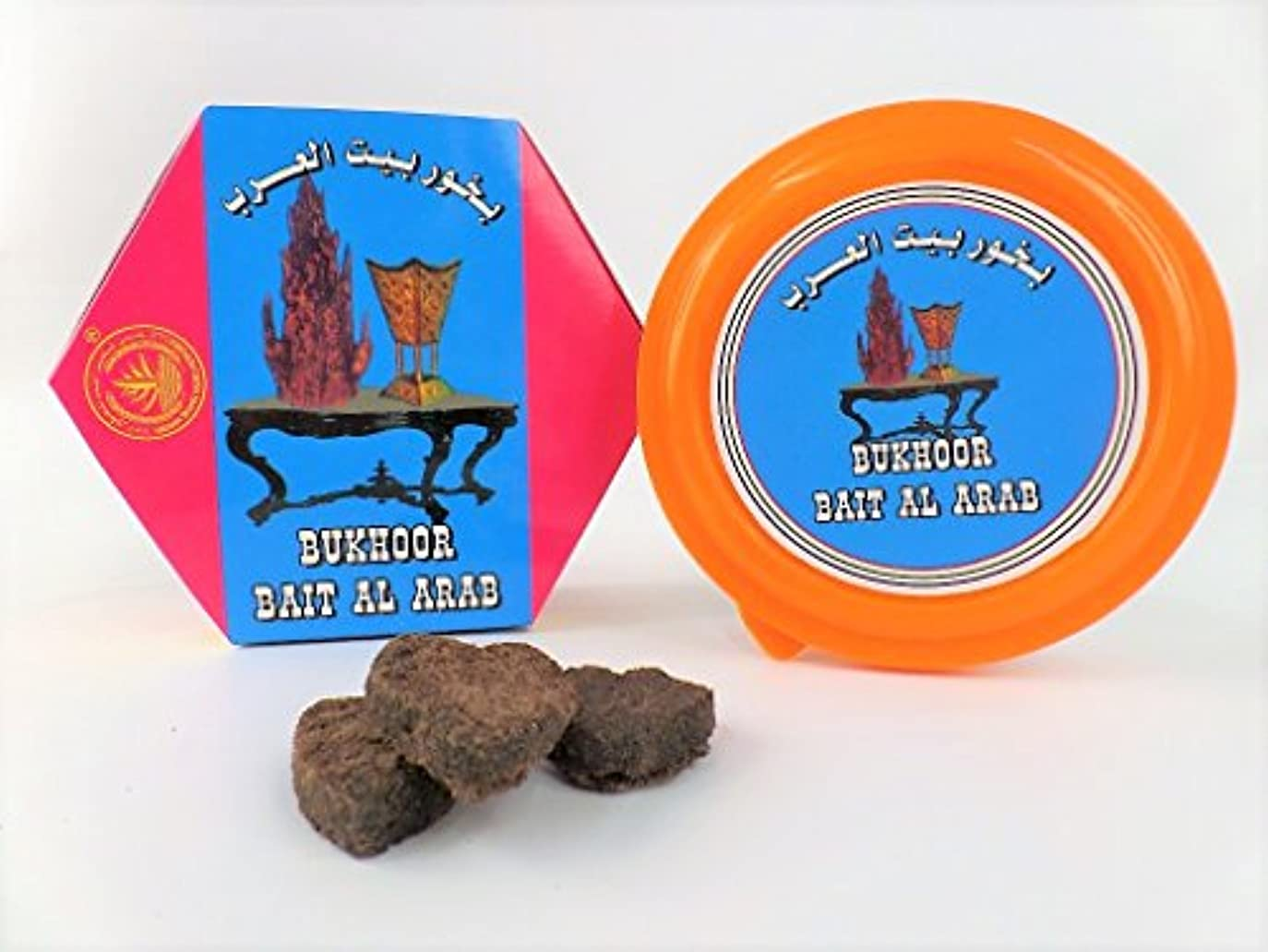 弱いブルゴーニュ上流のBakhoor Bait Al Arab、Arabianホームフレグランスお香、正味重量75 gm。 – ???? ??? ?????