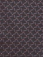 (エバーグレイス) EVER GRAYSオーダーメイドネクタイドットジャガードコンビネーション グレー (巾8cm 長さ144cm)