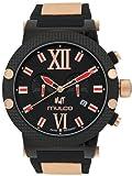 Mulco マルコ MW3-11010-026 Nuit Link Black クロノグラフ 男性用 メンズ 腕時計 (並行輸入)
