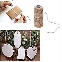 TraveT 天然麻ロープコード 工芸用 DIY装飾 おもちゃのギフトラッピング用
