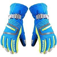暖かいcold-proofグローブ防風通気性スポーツ手袋スポーツLoversブルー