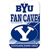 """11"""" x17""""ファンCave Street Sign BYU Cougars"""