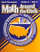 Scott Foresman Math 2003 Summer School Workbook Grade 3 Unit 6 Fractions