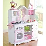 Constructive Playthings cpx-1032 Completeライフスタイル木製Play Kitchen withアクセサリーセット、グレード:幼稚園を3