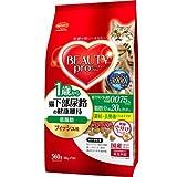 箱売り ビューティープロ キャット 猫下部尿路の健康維持 低脂肪 1歳から 560g キャットフード 成猫用 1箱10袋