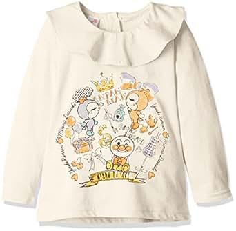 (ナカタ) nakata アンパンマン フレア衿長袖Tシャツ PA9147 オートミール 100㎝
