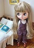 (ドーリア)Dollia ブライス 1/6ドール用 アウトフィット コーデュロイ オーバーオール サロペット ネオブライス ドール 人形 (ブラウン) ()