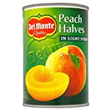 Del Monte Peach Halves in Light Syrup (420g) 光シロップでデルモンテ桃の半分( 420グラム)