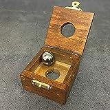 【手品 マジック】スチールボールがガラスを貫通する ボールが木箱を突き抜ける 道具が検査可能 近景マジック道具 手品道具