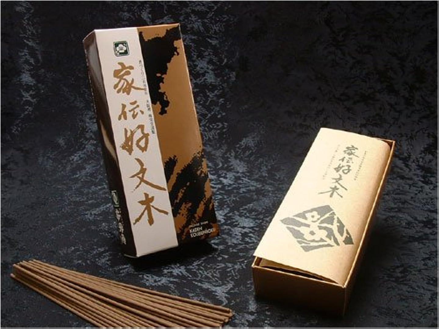 梅栄堂のお線香 家伝好文木 短寸小型バラ詰
