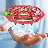 Mini Drone Flying Toy Hand Operated Drones for Kids or Adults - Hands Free UFO Helicopter, Easy Indoor Outdoor Flying Ball Drone Toys for Boys Girls