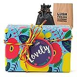 [ギフトラッピング済] LUSH ラッシュ ラブリー ボディ ソープ ギフト ショップバッグ付き 固形 石鹸 (3個入りギフトセット)