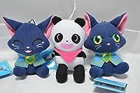 魔法使いと黒猫のウィズ マスコット ぬいぐるみ 全3種セット
