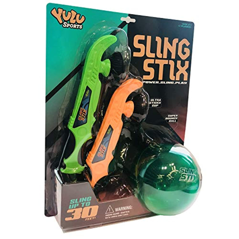 Yulu YL10330 スリングスティック オレンジとグリーン