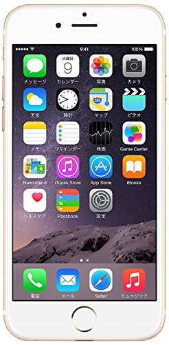 Apple SoftBank iPhone6 Plus A1524 (MGAK2J/A) 64GB ゴールド