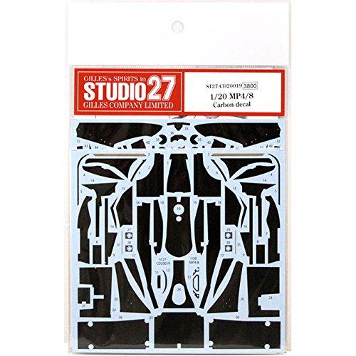 スタジオ27 1/20 マクラーレン MP4/8 カーボン デカール タミヤ対応