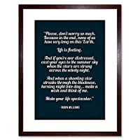 Quote Typography Movie Jack Life Spectacular Framed Wall Art Print