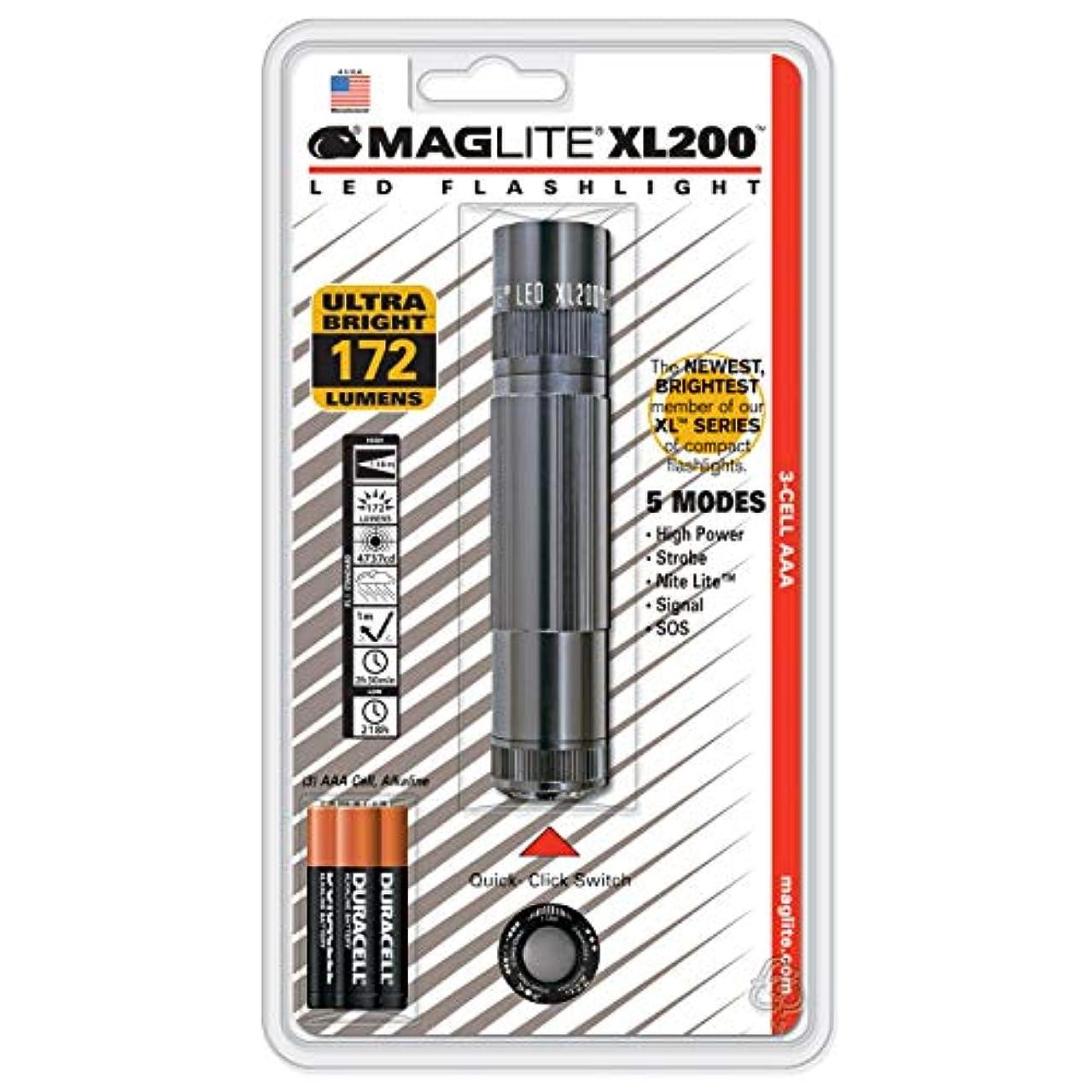 消防士修理可能ジムMAGLITE マグライト XL200 LED フラッシュライト