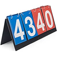GOGO 4 - デジタルポータブルテーブルトップスコアボード/スコアフリッパー0-99