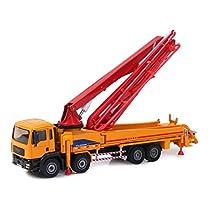 Damara 子供用 セメントポンプカー おもちゃ ジュニア 知育玩具 オレンジ