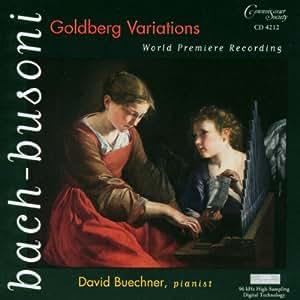 Ferruccio Busoni: Arrangements and Transcriptions of Bach Goldberg Variations