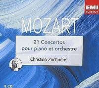 MOZART 21 Concertos pour piano et orchestre