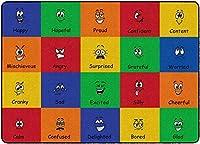 Flagship Carpets FA1027-32FS All Types of Feelings Multi [並行輸入品]