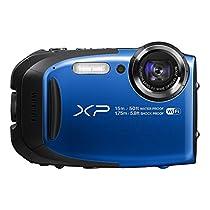 FUJIFILM デジタルカメラ XP80 ブルー XP80 BL